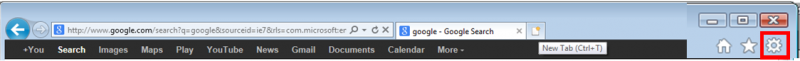 Internet Explorer 9 Toolbar image