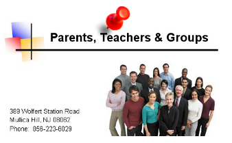 Parents, Teachers and Groups