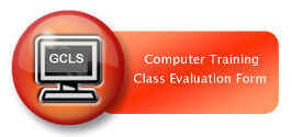 Computer Training Class Evaluation Form