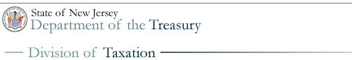 NJ Division of Taxation - image links to website