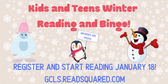 2021 Winter Reading Program