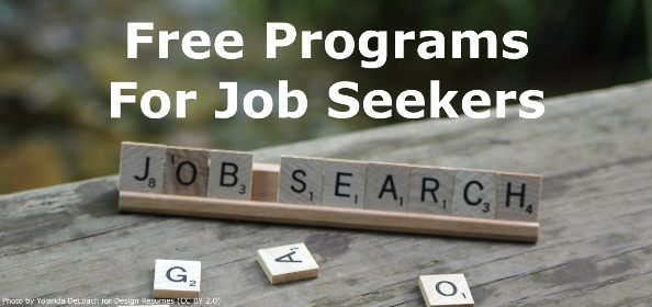 Free Programs For Job Seekers Slide