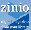 Zinio Digital Magazines logo