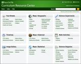 Curriculum Resource Center Database screenshot