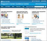 Ferguson's Career Guidance Center Database screenshot