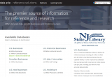 Reference Solutions Home Page Screenshot
